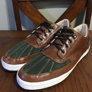 Polo Ralph Lauren Ramiro Tan Leather Oxfords 11.5D